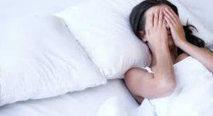 avere sonno e non riuscire a dormire